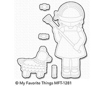 My Favorite Things Birthday Piñata Die-Namics (MFT-1281)