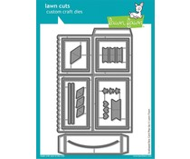 Lawn Fawn Scalloped Box Card Pop-Up Dies (LF1376)
