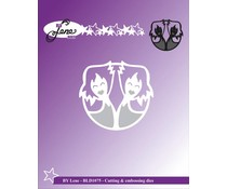 By Lene Cutting & Embossing Dies The Twins (BLD1075)