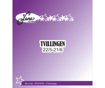 By Lene Clearstamp Tvillingen (Danish Texts) (BLS1046)