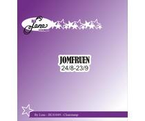 By Lene Clearstamp Jomfruen (Danish Texts) (BLS1049)