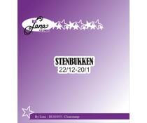 By Lene Clearstamp Stenbukken (Danish Texts) (BLS1053)
