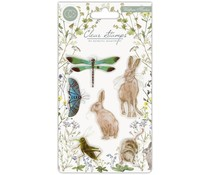 Craft Consortium Wildflower Meadow Clear Stamps Wildflower Meadow (CCSTMP004)