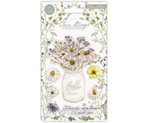 Craft Consortium Wildflower Meadow Clear Stamps Fresh Cut (CCSTMP006)