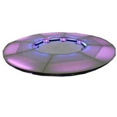 Stagedex Cirkel acryl melkglas Ø 4 m
