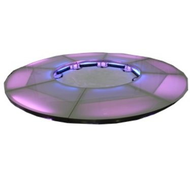 Stagedex Cirkel acryl melkglas