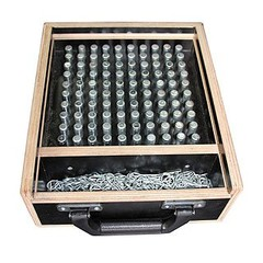 Set CCS6-603 Borgpennen + Borgveren 100 stuks