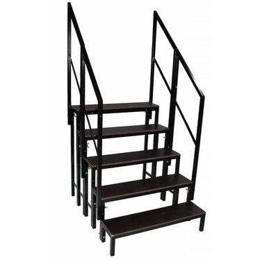 Set stagedex trap 100 cm hoog incl. railing