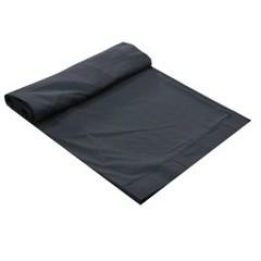 Molton CS Trevira zwart 6m x 6m