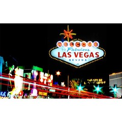 "Printed screen "" Las Vegas"""