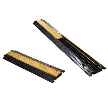 Kabelmat: met 2 tunnelsm, 110 cm