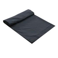 Molton CS Trevira zwart 6m x 5m