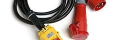 Elektriciteit Huren: Verlengsnoeren, Stroomverdelers, Motorkabels