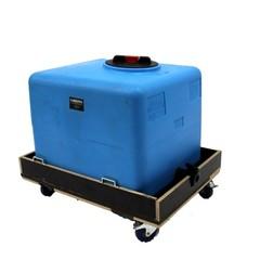 Afval water tank