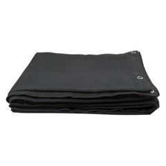 Molton verdu Zwart 6m x 4,5m