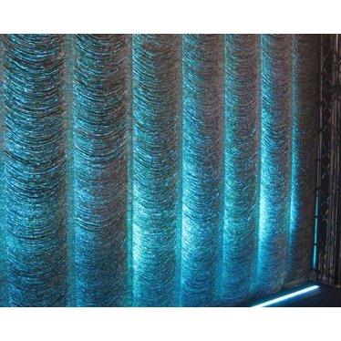 Reefer string + zwarte backdrop 5 x 5 m