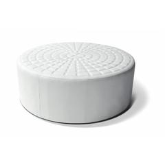 Lounge cube cirkel wit