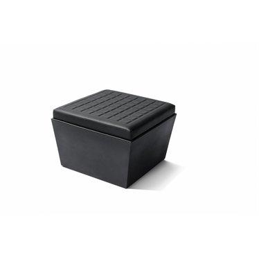 """""""Summer"""" seat vierkant zwart"""