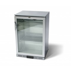 Ledbar Flessenkoeler 1 Glasdeur RVS