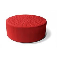 Lounge Cube cirkel Rood