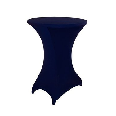 Statafel stretchhoes Donker Blauw incl. top cover