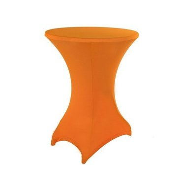 Statafel stretchhoes Oranje incl. top cover
