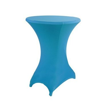 Statafel stretchhoes Licht Blauw incl. top cover