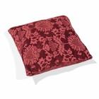 Decoratie kussen Fluweel rood