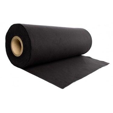 Podiumdoek strak zwart 40 cm hoog