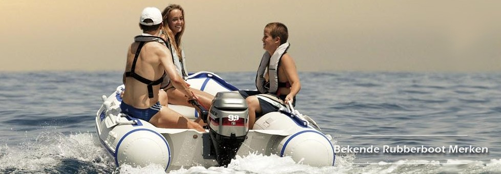 Bekende Rubberboot Merken