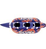 Talamex Funtube Rocket 3 persoons (banaan) 302 cm