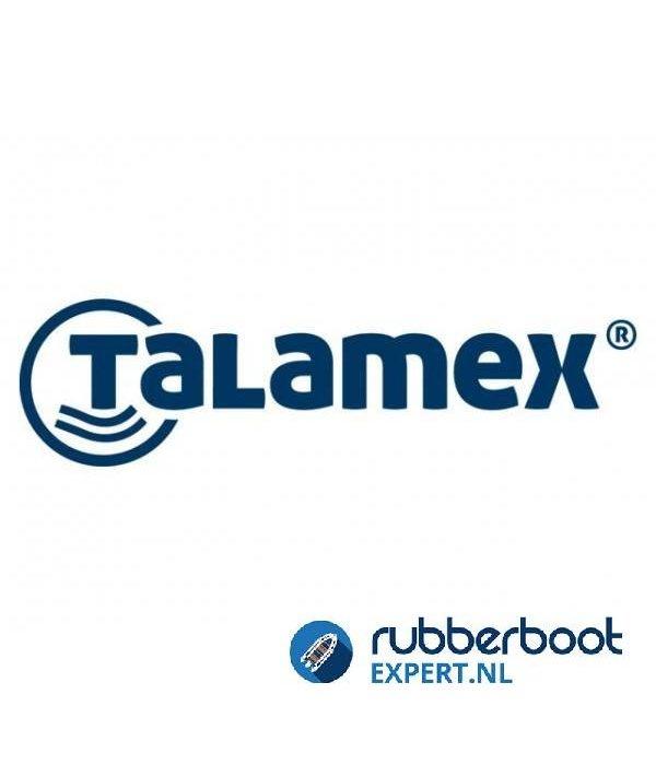 Talamex Superlene landvast diameter 10 mm lengte 10 meter met paaloog