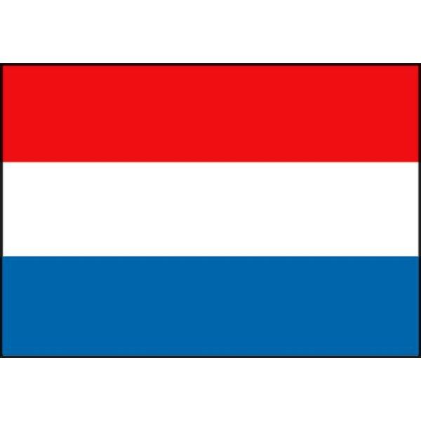 Boot vlag Nederland 20 x 30 cm