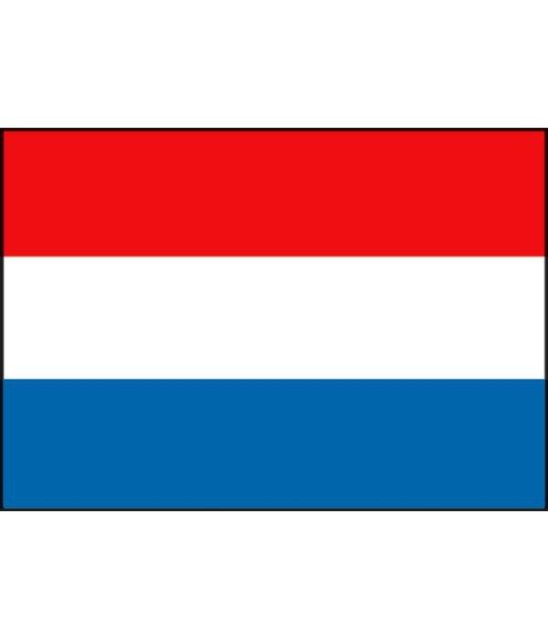 Nederlandse boot vlag 20 x 30 cm