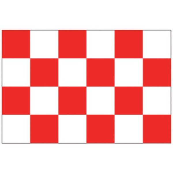 Boot vlag Brabant 20 x 30 cm