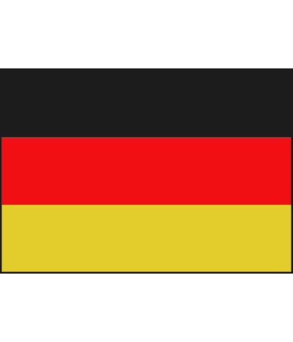 Duitse boot vlag 20 x 30 cm