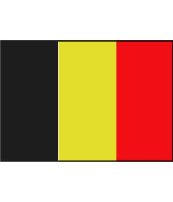 Belgische boot vlag 20 x 30 cm