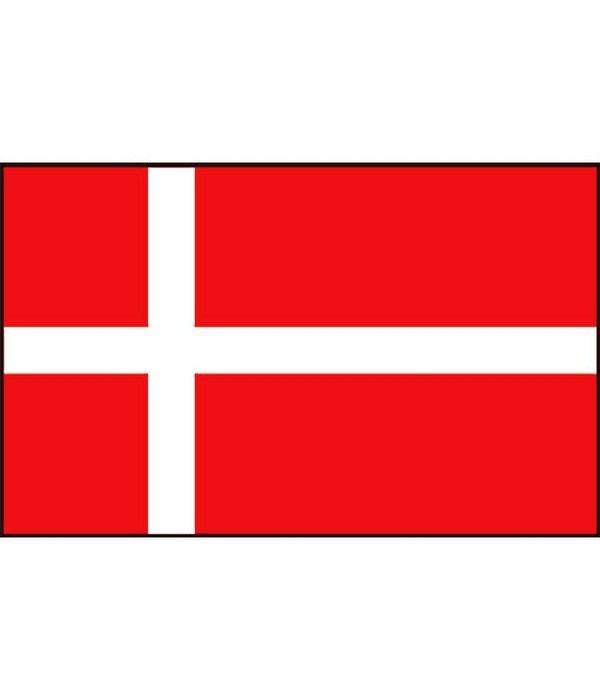 Deense boot vlag 20 x 30 cm