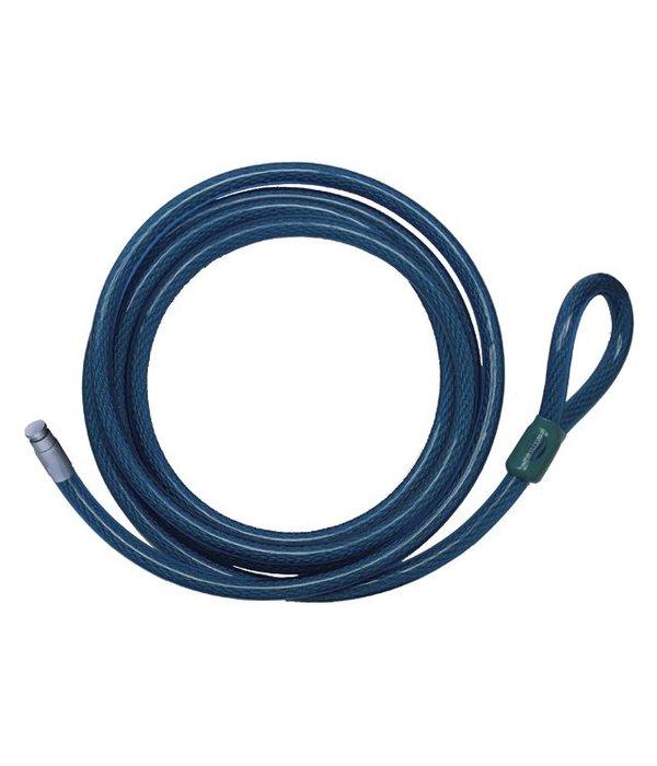 Stazo Smartlock buitenboordmotor slot met 2,5 m lasso kabel van Ø 20 mm