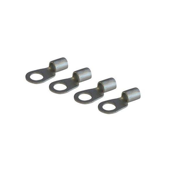 4 stuks Kabelschoen voor kabel Ø 10 mm² met oog Ø 8 mm