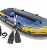 Intex Opblaasboot Challenger 3 Set driepersoons