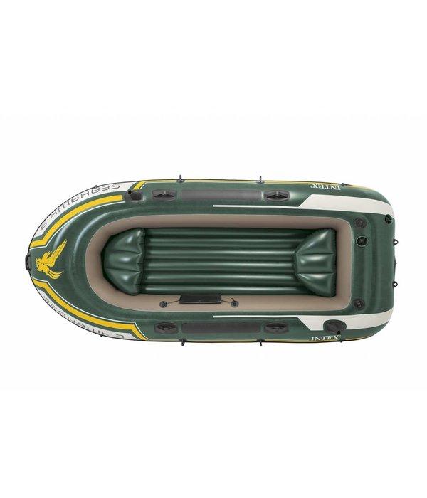Intex Opblaasboot Seahawk 3 Set driepersoons