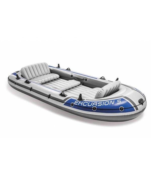 Intex Opblaasboot Excursion 5 Set vijfpersoons