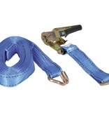 Talamex Spanband 36 mm 8 meter met ratelgesp en J-haak