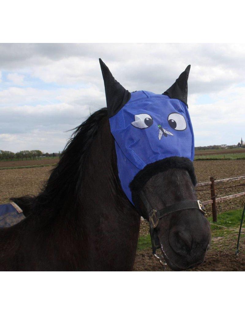 LuBa Paardendekens® Vliegenmasker met Fly-print