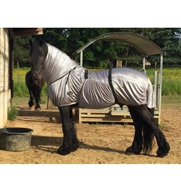 LuBa Paardendekens, Friesian horse® LuBa Eczema Rug FRISIAN
