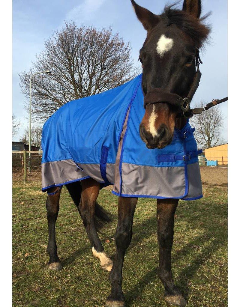 LuBa Paardendekens® Regendeken 1200D Blauw