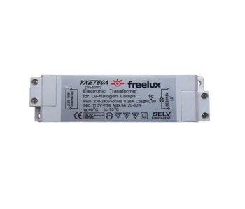 Freelux YXET60A halogeentransformator 20-60 Watt