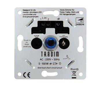 Tradim 2490HPEXOP LED tronic dimmer 5-150 Watt instelbaar