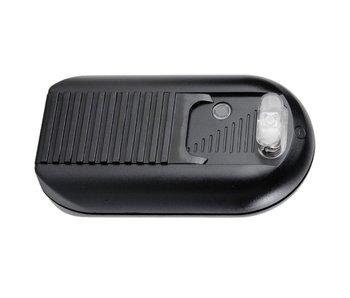 Tradim 31032 gradateur étage variateur avec interrupteur 2 lampes 40-500 Watt noir